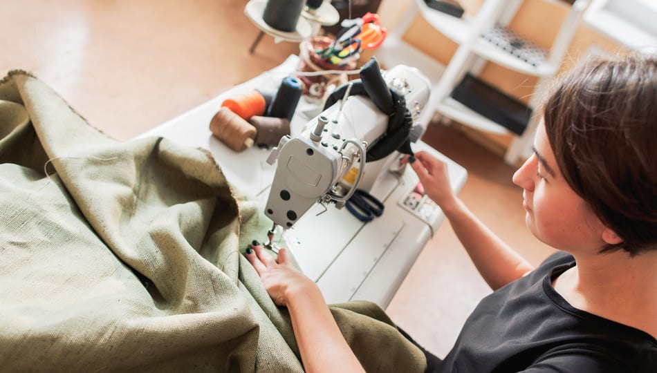 The best sewing machine for upholstery, a guide featured by top US sewing blogger, The Sewing Korner