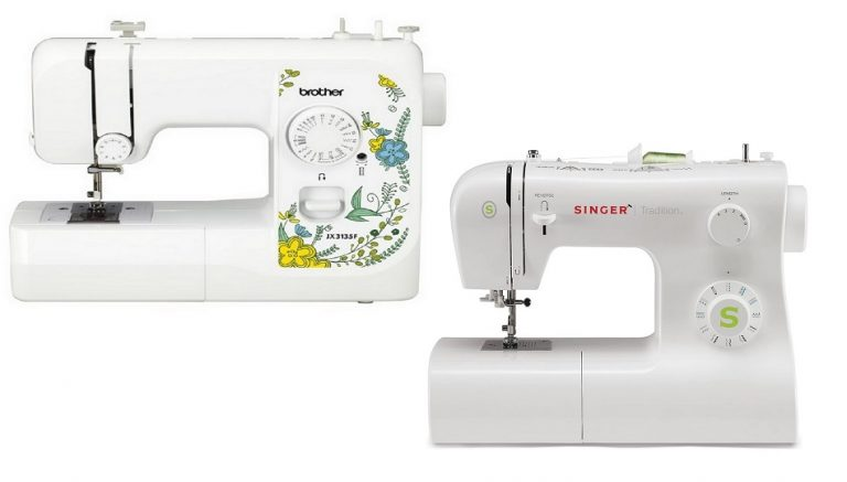Brother vs Singer sewing machines, a guide featured by top US sewing blogger, The Sewing Korner