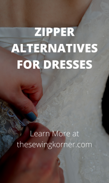 ZIPPER ALTERNATIVES FOR DRESSES