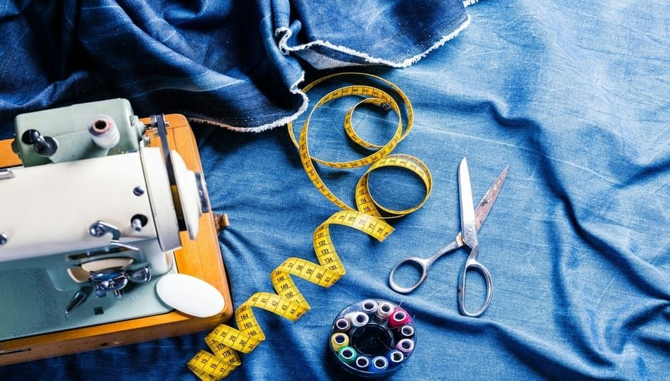 Top 5 Essentials to Sew Denim featured by top US sewing blog, The Sewing Korner.