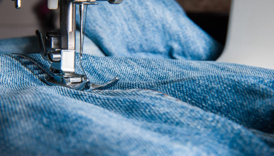 The best sewing machine for jeans, a guide featured by top US sewing blogger, The Sewing Korner